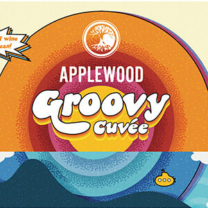 label for groovy cuvee wine