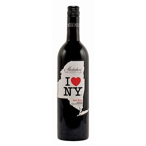 Bottle of Brotherhood I Love New York