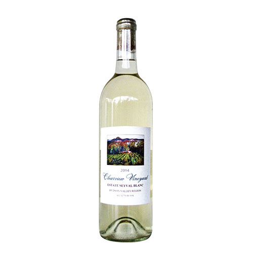 Bottle of Clearview Estate Seyval Blanc