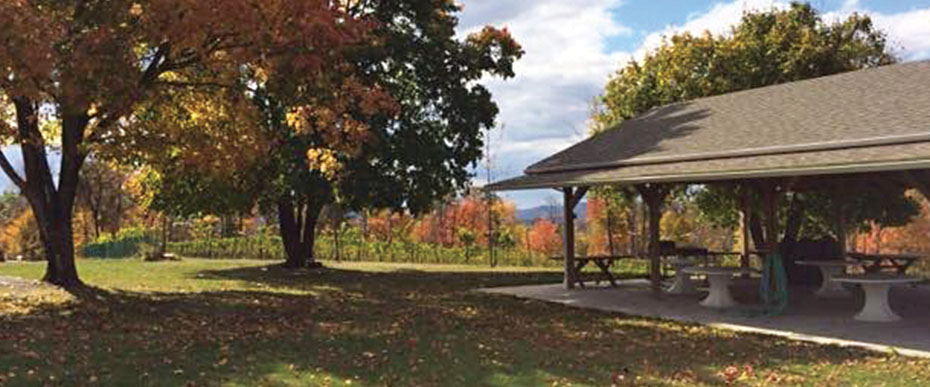 Gazebo at Demarest Winery
