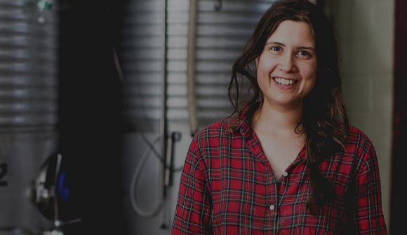 Portrait of Laura Cypress, Assistant Winemaker at Benmarly Winery