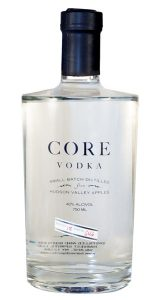 photo of a bottle of Core Vodka, from Harvest Spirits
