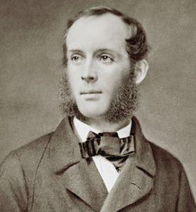 portrait of artist Frederic Churca, circa 1860s