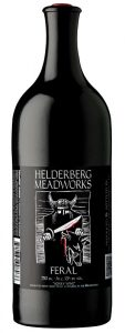 photo of bottle of Feral Mead, from Helderberg Meadworks