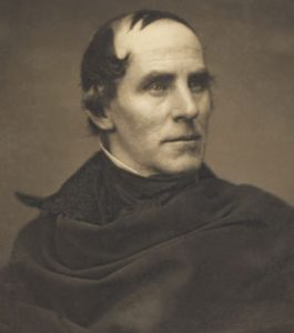 portrait of famed artist Thomas Cole, circa 1844