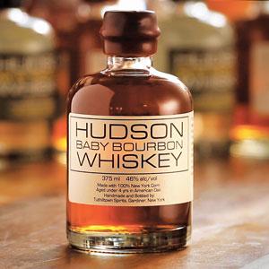 photo of bottle of Hudson Baby Bourbon, from Tuthilltown Spirits