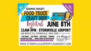 Food Truck Craft Beer Festival flyer