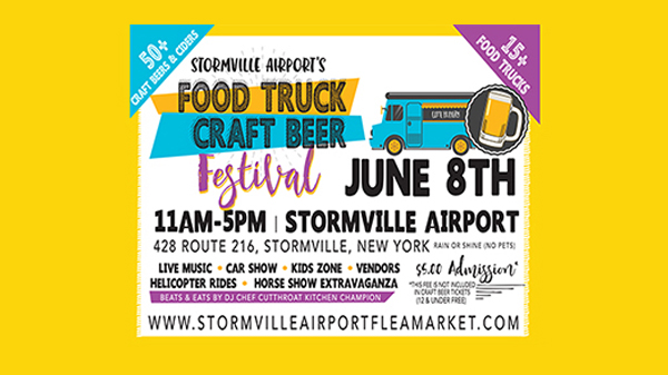 Stormville Airport's 3rd Annual Food Truck + Craft Beer Festival