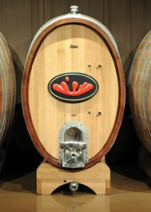 photo of a barrel at Stoutridge Vineyard and Distillery.