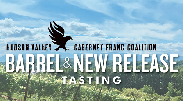 Hudson Valley Cabernet Franc Coalition Barrel Tasting + New Release Tasting