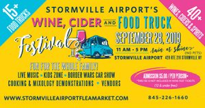 Wine Cider & Food Truck Festival ad