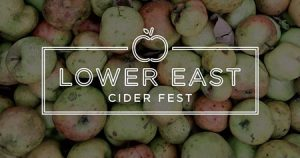 logo for Lower East Cider Fest