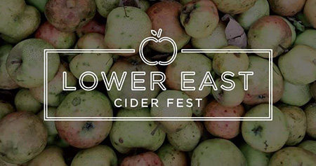 logo for Lower East Cider Fest