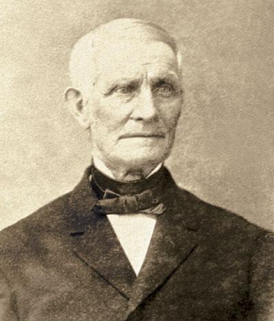 sepia photograph of John Jaques Sr.