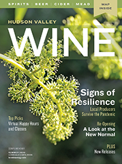 Summer 2020 issue cover with flowereing grapevine