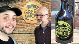Owners of Green Wolf brewing