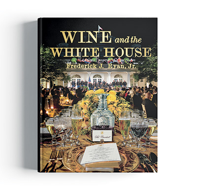 cover of Wine and the White House book