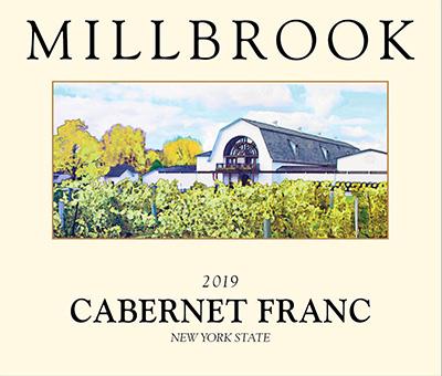 Millbrook Cabernet Franc wine label